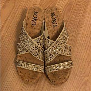Xoxo wedge shoes 3 3/4 inch